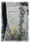 Image for Cut Bench Mark - Blessed St Mary's Church, Walmer, Kent, UK.