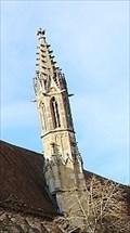 Image for Kirchturm/Steeple of Franziskanerkirche - Rothenburg ob der Tauber, Bavaria, Germany