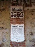 Image for Gold Hill Hotel - Gold Hill, Nevada