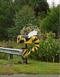 Image for Bumble-Bee Mailbox - Rockmart, GA