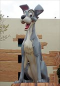 Image for The Tramp - Dog - Disney's Pop Resort, Lake Buena Vista, Florida, USA.