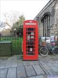 Image for Red Telephone Box - Bridge Street, Cambridge, UK
