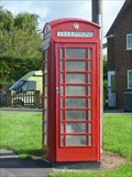 Image for Red Telephone Box, Chaddesley Corbett, Worcestershire, England