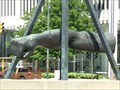 Image for Monument to Joe Louis - Detroit, Michigan, USA.
