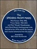 Image for Spiders From Mars, Hull Paragon Station, Hull. UK