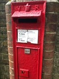 Image for Victorian Wall Post Box - Hamsey, near Lewes, West Sussex, UK