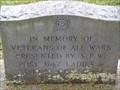Image for Veterans of All Wars Memorial - Patoka, IN