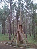 Image for Trebuchet at Aljubarrota Battle interpretation center - Aljubarrota , Portugal