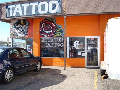 attitude tattoo midvale utah tattoo shops parlors on