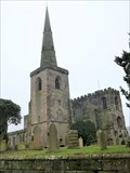 Image for St Mary's Church Steeple - Astbury, Cheshire, UK.
