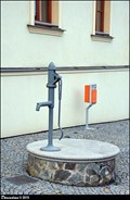 Image for Hand pump at Municipal Office / Rucni pumpa u obecního úradu - Dolní Brežany (Central Bohemia)
