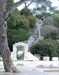 Image for Stairs of the Chapelle Notre-Dame-du-Cap-Falcon - Cap Brun, Toulon, France