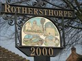 Image for Rothersthorpe Village Sign  Northant's