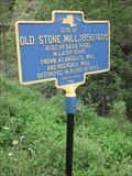 Image for Site of Old Stone Mill 1856-1935 - Virgil, NY