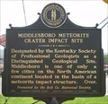 Image for Middlesboro Meteorite Crater Impact Site, Middlesboro, Kentucky