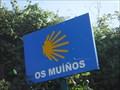 Image for Os Moíños Way marker - Os Moíños, Spain