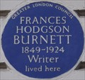 Image for Frances Hodgson Burnett - Portland Place, London, UK