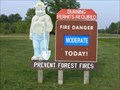 Image for Smokey Bear signs - Waupaca, WI
