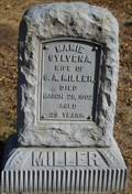 Image for Mamie Sylvena Miller - Gardner Cemetery - Gardner, Ks.