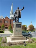 Image for Waving McKinley, Friend of the Cotton Industry - Adams, MA