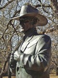 Image for Statue of Larry Hagman as J.R. Ewing - Weatherford, TX