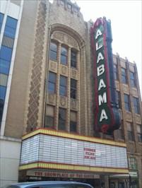 the alabama theater birmingham alabama vintage movie