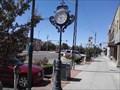 Image for Garrison Avenue Sidewalk Clock - Fort Smith AR