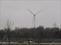 Image for Ptersburg Porta High School windmill, Petersburg, Illinois.