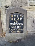 Image for A5 Milestone (Holyhead 76), Llangollen, Denbighshire, Wales