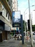 Image for Copacabana Time & Temperature Sign  -  Rio de Janeiro, Brazil