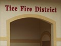 Image for Tice Fire District