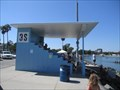 Image for Rowing Finish Line for Xth Olympiad - Long Beach, CA