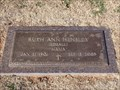 Image for 102 - Ruth Ann Hensley - Chapel Hill Cemetery - OKC, OK