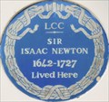 Image for Isaac Newton - Jermyn Street, London, UK