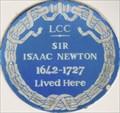 Image for Isaac Newton - Jermyn Street, London, UK