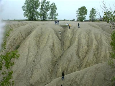 This looks like a badlands in Iowa. The kids love this place!