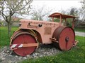 Image for Old road roller - Rothenburg, BY, Germany