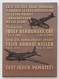 Image for G/Cpt Berounský, Josef and Sgt Heller, Felix Arnošt - Slany, Czech Republic