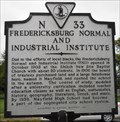 Image for Fredericksburg Normal and Industrial Institute