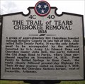 Image for The Trail of Tears Cherokee Removal, Selmer, TN