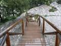 Image for Pont de fusta sobre el Torrent de Lluc - Lluc, Mallorca, Espanya