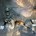 Image for Lion statue on monument to victims WWI - Makotrasy, Czechia
