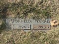 Image for 100 - Cornelia Warren - Hillcrest Cemetery - Spencer, OK