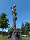 Image for Tiny figurine on the Molenpoort Square in Hasselt - Limburg / Belgium