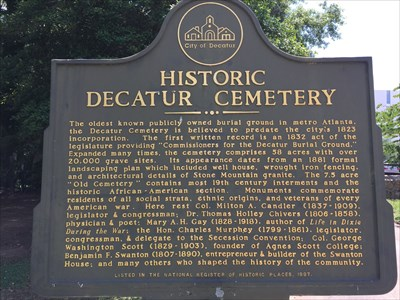 Old Cemetery section