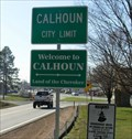 Image for Calhoun, Georgia  - Land of the Cherokee