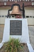 Image for Firemen's Memorial Bell - Cedar Knolls NJ