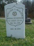 Image for First Lieutenant Nineveh S. McKeen - Collinsville, IL