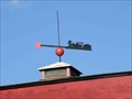 Image for Caboose Weathervane @ The Red Caboose - Strasburg, PA