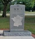 Image for World War I Memorial - War Memorial Park, Ponca City, OK
